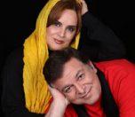 شهناز شهبازی و همسرش