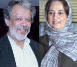 حسن پورشیرازی و همسرش