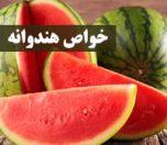 فواید هندوانه برای سلامتی و زیبایی