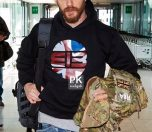 51737473 'Mad Max: Fury Road' star Tom Hardy catches a flight to Nice at Heathrow Airport in London, England on May 12, 2015. Hardy revealed his next project may be a secret DC Comics movie- so does that mean he was just teasing Marvel fans when he shared his desire to play The Punisher this month? FameFlynet, Inc - Beverly Hills, CA, USA - +1 (818) 307-4813 RESTRICTIONS APPLY: USA ONLY