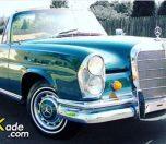 A 1966 Mercedes-Benz 220SE W111 Cabriolet