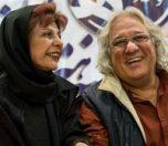 جمشید جهانزاده و همسرش فرزانه نشاط خواه