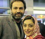 میلیشا مهدی نژاد و همسرش
