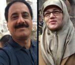بیوگرافی حمید معصومی نژاد و همسرش