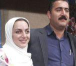 نسرین بابایی و همسرش