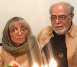 بیوگرافی اکبر زنجانپور و همسرش