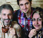 سید جواد هاشمی و همسرش