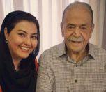 محمد علی کشاورز و همسرش