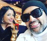 شهرام کاشانی و همسرش