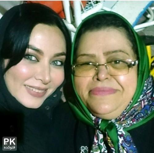 عکس فقیهه سلطانی و مادرش