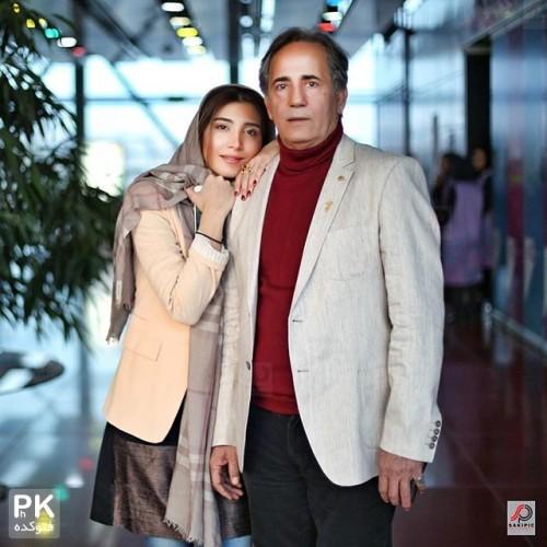 عکس مجید مظفری و دخترش نیکی مظفری