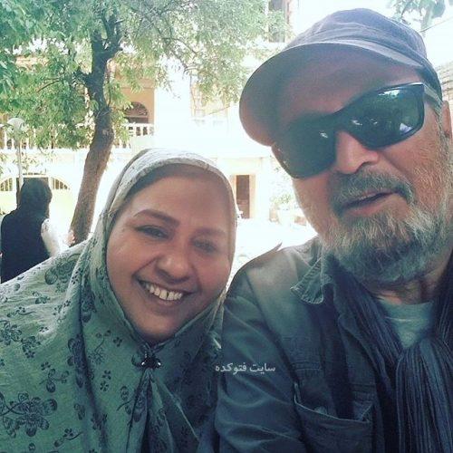 عکس فروغ قجابگلی و سیروس مفدم کارگردان