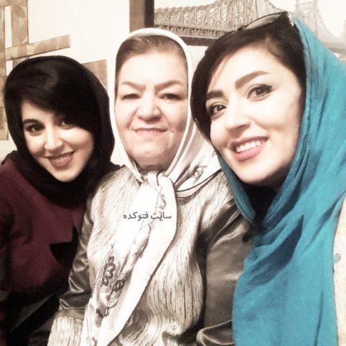 عکس فریبا طالبی در کنار خواهر و مادرش + بیوگرافی