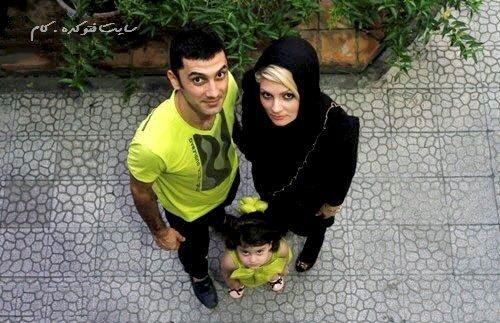 عکس فرهاد ظریف و همسرش مهسا امینی
