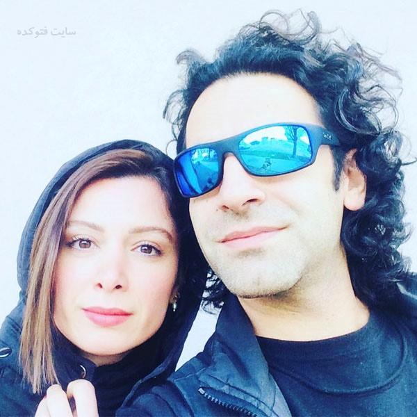 عکس بیوگرافی فرناز رهنما و همسرش کیارش اعتمادی