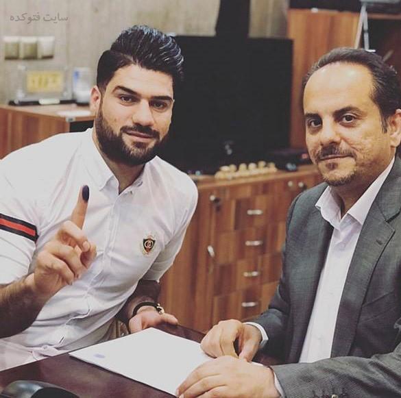 فرشاد محمدی مهر بازیکن فوتبال استقلال کیست