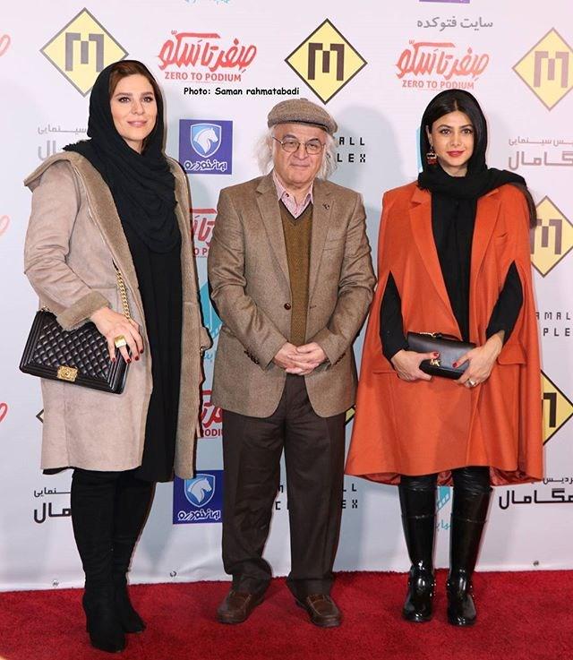 عکس آزاده صمدی - فریدون جیرانی و سحر دولتشاهی + بیوگرافی