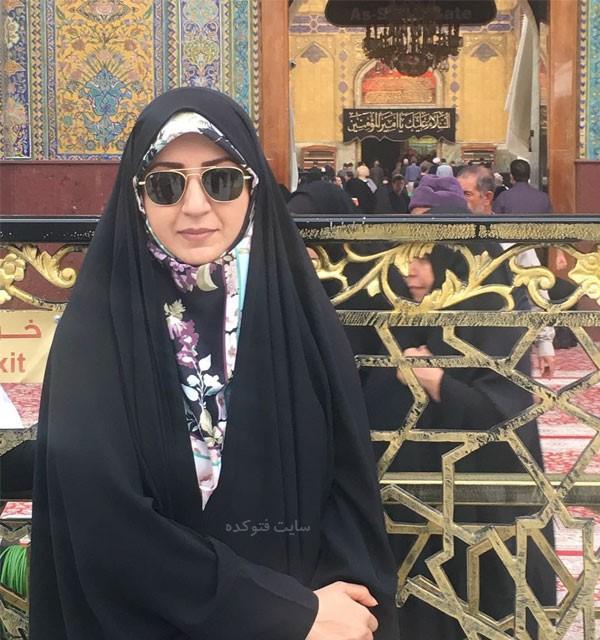 عکس و بیوگرافی فضه سادات حسینی