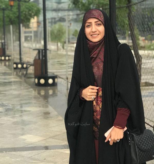 بیوگرافی فضه سادات حسینی گوینده خبر