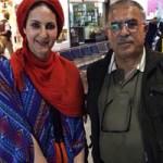 فاطمه گودرزی و همسرش بیوگرافی و عکس