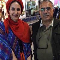 بیوگرافی فاطمه گودرزی و همسرش عبدالرضا گنجی + خانواده