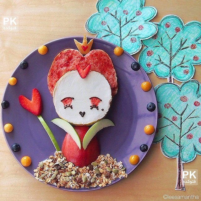 مدل تزئین ظرف غذای بچه,تزئین ظرف غذای کودک,عکس مدل های تزئین بشقاب کودک,مدلهای جذاب و لذیذ از تزئین و شکلک های غذای بچه,نحوی تزئین بشقاب غذای کودک,غذای کودک