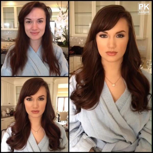 عکس های جالب از معجزه آرایش زنان,عکس های قبل و بعد از آرایش,عکس معجزه آرایش,عکس های مدل های روی مجلات قبل و بعد از آرایش,عکس افراد مشهور قبل و بعد از آرایش