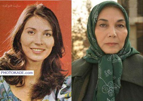 عکس پروانه معصومی قبل و بعد از انقلاب