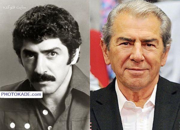 عکس فرامز قریبیان قبل و بعد از انقلاب