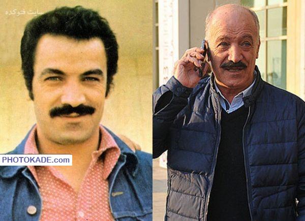 عکس سعید راد قبل و بعد از انقلاب