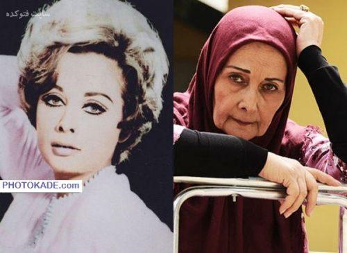 عکس کتایون امیرابراهیمی قبل و بعد از انقلاب