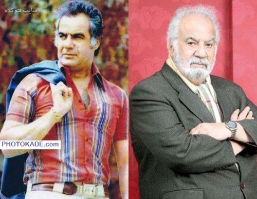 عکس ناصر ملک مطیعی قبل و بعد از انقلاب