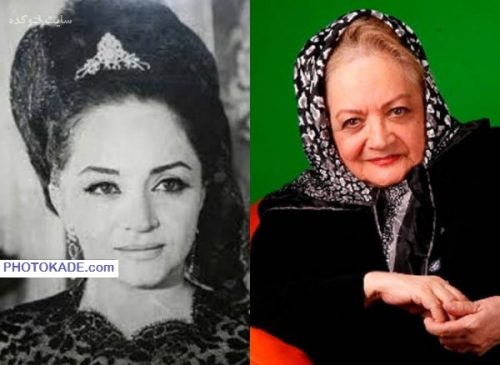 عکس شهلا ریاحی قبل و بعد از انقلاب
