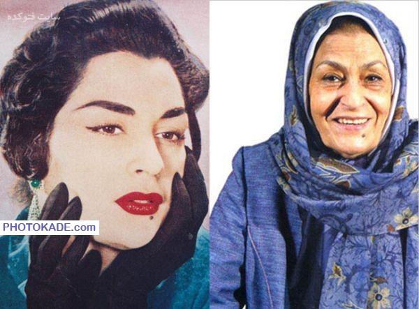 عکس ژاله علو قبل و بعد از انقلاب