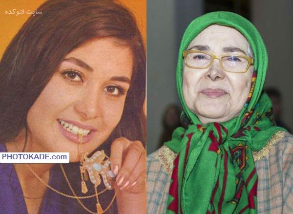 عکس آفرین عبیسی قبل و بعد از انقلاب