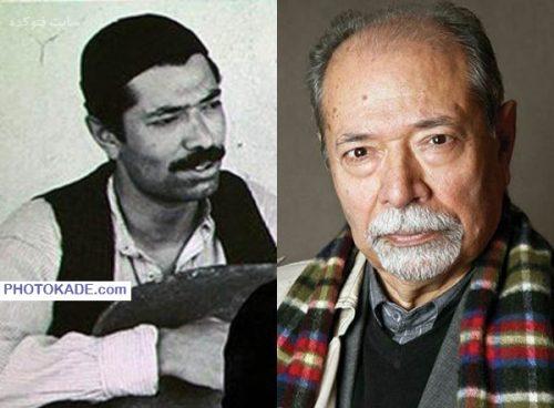 عکس علی نصریان قبل و بعد از انقلاب