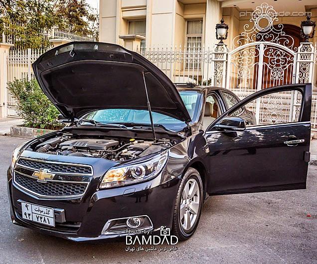 عکس جدید ماشین شورلت مالیبو در ایران