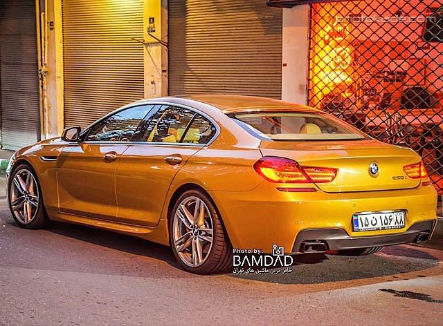 عکس جدید ماشین BMV 650 در ایران