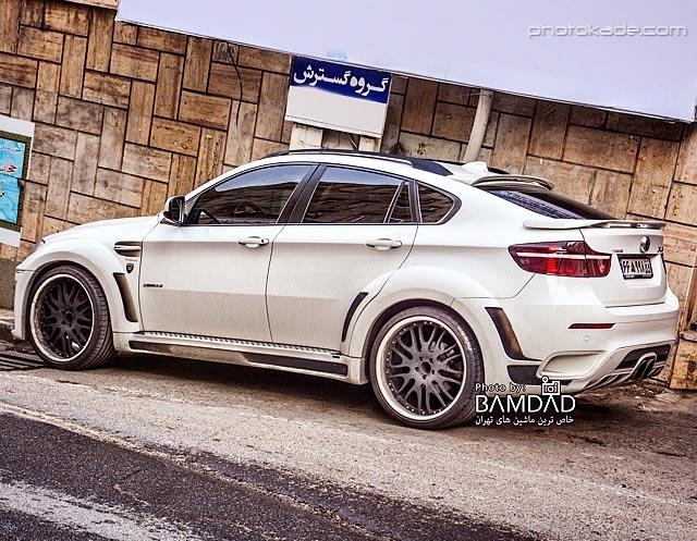 عکس جدید ماشین BMV X60 هامان در ایران