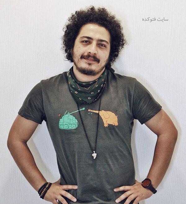 عرفان ابراهیمی در عکس و بیوگرافی بازیگران گاندو