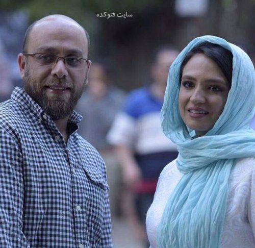 عکس گلاره عباسی و همسرش ادیب راد + بیوگرافی