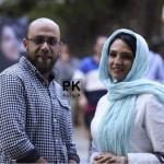 عکس و بیوگرافی گلاره عباسی و همسرش