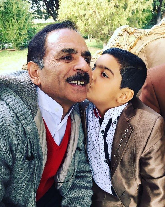 عکس قدرت الله ایزدی معروف به آقا رشید + سجاد رضایی
