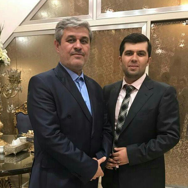 عکس های غلامرضا تاجگردون و پسرش