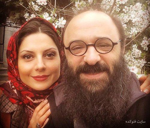 عکس سولماز غنی و همسرش علی رحیمی + شغل و زندگی شخصی خفن لو رفته