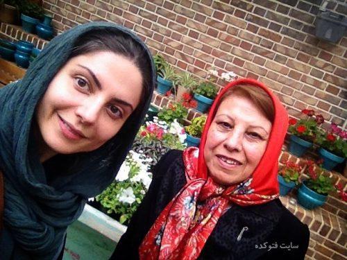 عکس سولماز غنی و مادرش + زندگینامه کامل خصوصی