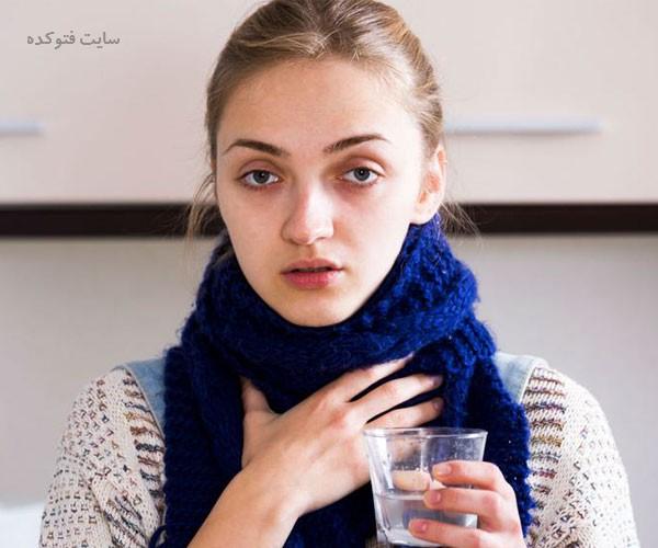 مواد غذایی مفید برای گلودرد