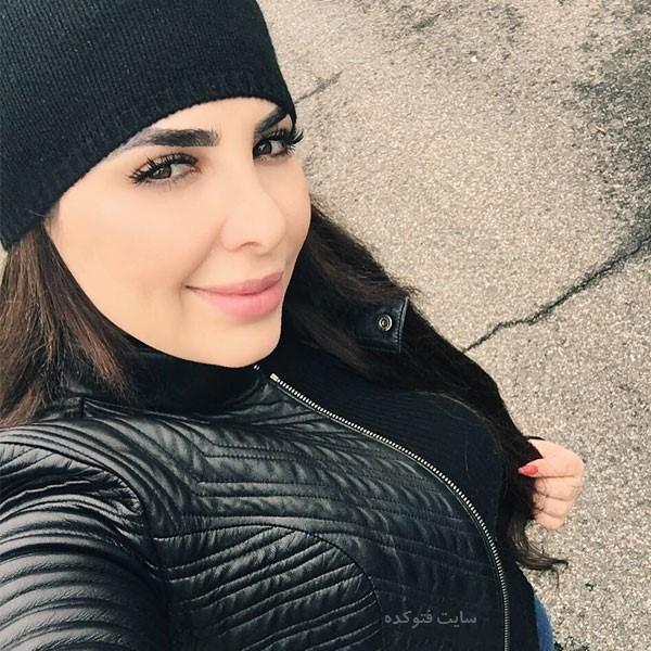 عکس های غزل سادات خواننده و همسرش