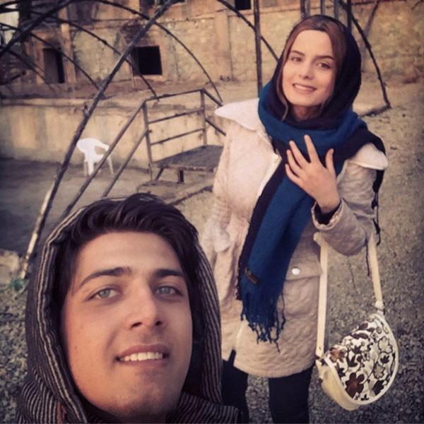 عکس غزاله اکرمی و علی مسلمی