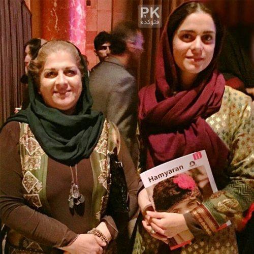 عکس غزل شاکری و مادرش فرشته طائرپور
